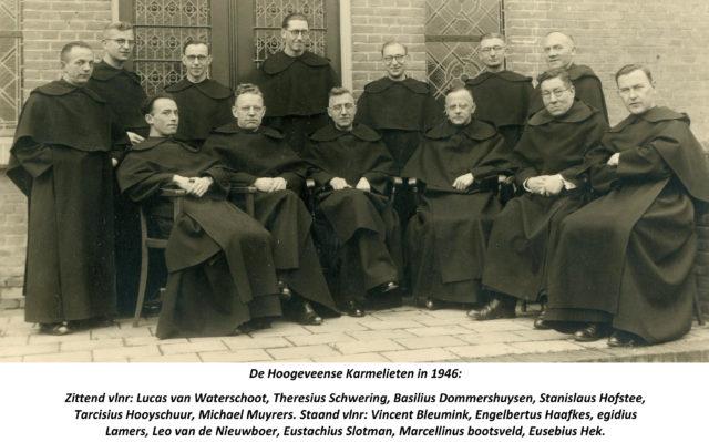 De Klooster-bewoners in 1946
